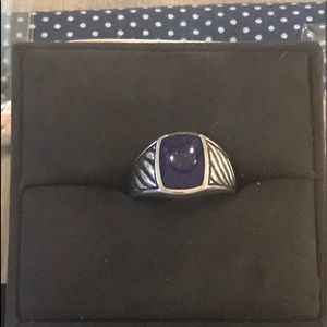 David Yurman Cable Classics Men's Signet Ring